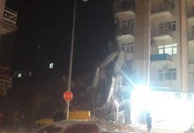 (تصاویر) زمین لرزه ۶.۸ ریشتری شرق ترکیه را لرزاند