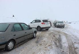 انسداد برخی محورهای استانهای جنوبی   امکان اعمال محدودیت ترافیکی در جاده چالوس
