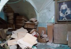 حمام ۲۰۰ ساله دولاب، زباله دانی محله شده است