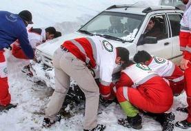 برف و کولاک در ۲۳ استان
