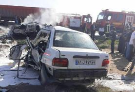 ۵ کشته در تصادف جاده ماهشهر خوزستان (+عکس)