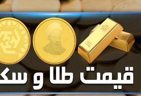 سکه ۴۰هزار تومان گران شد/ هر گرم طلا از مرز ۵۰۰ تومان عبور کرد