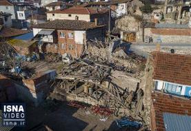 ویدئو / تازهترین اخبار از زلزله شدید شرق ترکیه