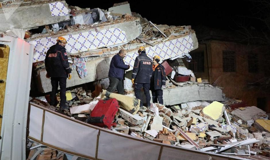 تصاویر هوایی و آمار اولیه از تلفات زلزله شدید ترکیه