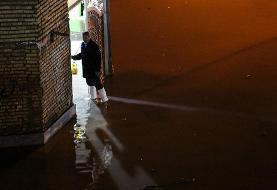 (تصاویر) ورود دوباره فاضلاب به خانهها در کوت عبدالله