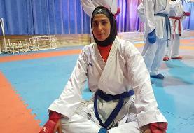 عباسعلی دومین طلایی ایران در لیگ جهانی کاراته وان پاریس