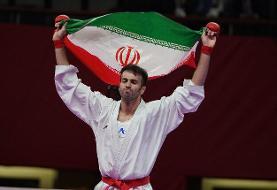 بهمن عسگری نخستین المپیکی کاراته ایران شد