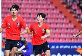 تیم فوتبال المپیک کرهجنوبی بر بام آسیا ایستاد