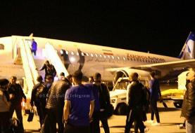 پرواز اختصاصی استقلال به قطر