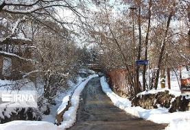 سراب در آذربایجان شرقی ۲۴ درجه زیر صفر