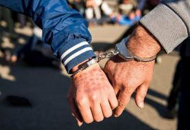 دستگیری سارق طلافروشی در لردگان