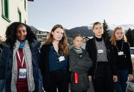 Greta Thunberg slammed the Associated Press for cropping a black activist out of a photo of her ...