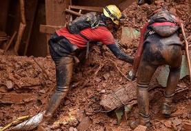 قربانیان سیل و طوفان در برزیل به ۴۴ نفر رسید