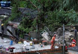 سیل و طوفان در برزیل هزاران نفر را آواره کرد