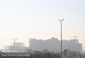 هوای تهران همچنان ناسالم برای گروههای حساس است
