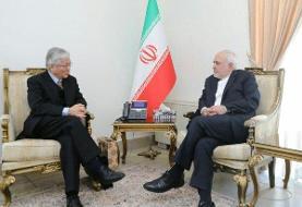 تاکید ظریف بر حمایت ایران از روند صلح با هدایت دولت افغانستان
