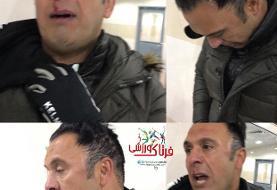 درگیری و خونریزی در لیگ دسته دو فوتبال ایران+عکس