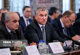 ابراز همدردی رئیس دومای روسیه نسبت به شهادت سردار سلیمانی