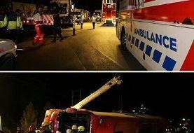 واژگونی اتوبوس تهران - شیراز در اصفهان: ۲۷ کشته و زخمی