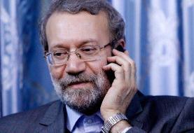 رئیس مجلس: حمایت همهجانبه ایران از فلسطین در برابر «طرح شیطانی معامله قرن»