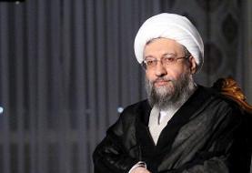 آملی لاریجانی درگذشت جانباز میرزا محمد سُلگی را تسلیت گفت