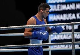 کاظمزاده: شرایط خوبی برای مسابقات کسب سهمیه دارم