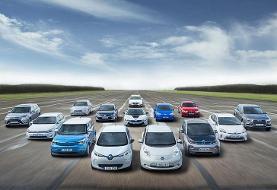 بزرگترین صادرکنندگان خودروهای الکتریکی در جهان