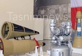 تصویری متفاوت از موشکهای بالستیک تازه به نمایش درآمده ایران