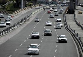 محور هراز جمعه به سمت تهران یکطرفه خواهد شد