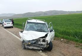 تصادف پژو با پراید در دهلران /سه کشته
