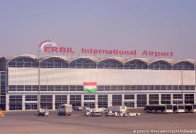 اصابت شش موشک به نزدیکی فرودگاه اربیل عراق