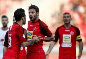 بازی با النصر آخرین حضور شجاع خلیل زاده در پرسپولیس