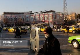 آخرین وضعیت کیفیت هوای پایتخت