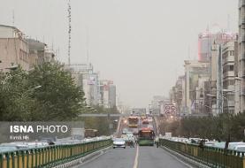 وضعیت کیفی امروز هوای تهران اعلام شد