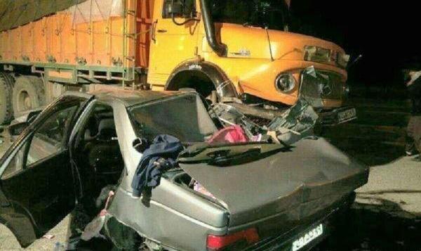 ویدئو: لحظه وحشتناک زیرگرفتن چند خودرو توسط کامیون در اتوبان تبریز