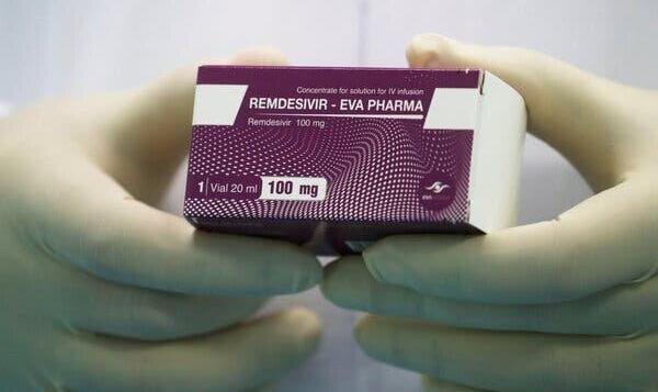 رمدسیویر مدت بستری یا مرگ ناشی از کووید-۱۹ را کاهش نمیدهد