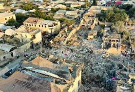 ۱۲ کشته در حمله ارمنستان به شهر گنجه آذربایجان