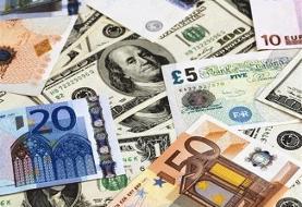 نرخ ارز در بازار آزاد ۲۶ مهرماه