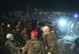 (تصاویر) ۵۲ کشته و زخمی بر اثر حمله موشکی ارمنستان به گنجه