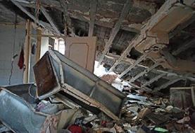 پنج مصدوم در انفجار گاز کوی اقبال اهواز
