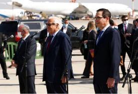 استقبال وزیر خارجه بحرین از هیئت اسرائیلی- آمریکایی در منامه