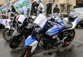 توقیف ۳ موتورسیکلت سنگین در بزرگراه آیت الله سعیدی