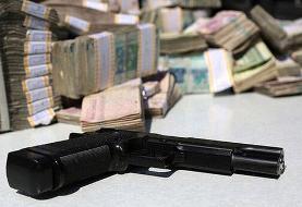 ببینید   تصاویر باورنکردنی از سرقت مسلحانه طلافروشی در کرمان