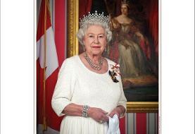 عکس | رونمایی از پرتره جدید ملکه کانادا