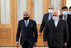 عبدالله عبدالله: ظریف به ما از حمایت مداوم ایران از روند صلح افغانستان اطمینان داد