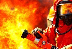 چهارنفر در یک حادثه آتش سوزی در اهواز مصدوم شدند