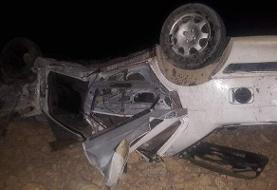 مرگ دختر ۱۶ ساله در واژگونی پژو ۲۰۶ در پردیسان