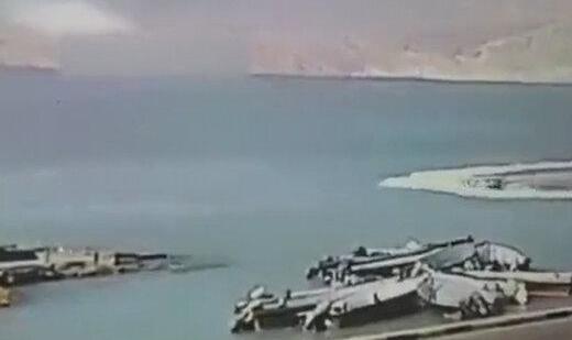 ببینید   لحظه شهادت سروان ناخدا اصغر سالارپور از پرسنل دریابانی قشم
