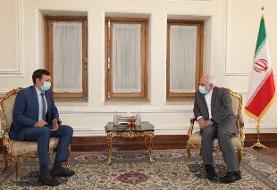 جزئیات دیدار رئیس هیئت مذاکره کننده اوکراینی با ظریف