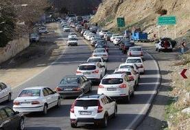کندوان امروز یک طرفه میشود؛ ترافیک در جاده چالوس